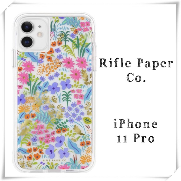 Rifle Paper Co. iPhone 11Pro Floral Phone Case New